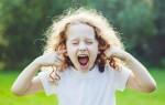 Возрастные кризисы у детей дошкольного возраста