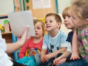 Занятие дошкольников