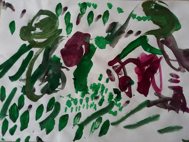Рисунок ребенка 3 лет