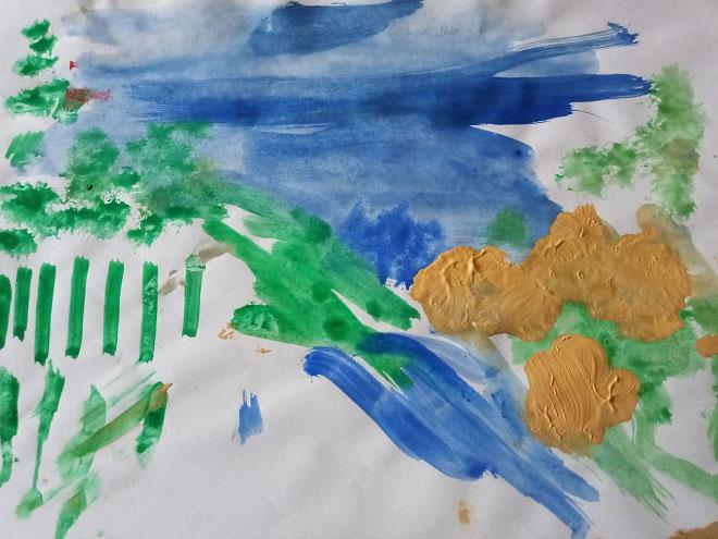 Рисунок трехлетки