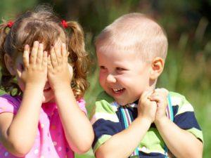 Общение дошкольников в игре